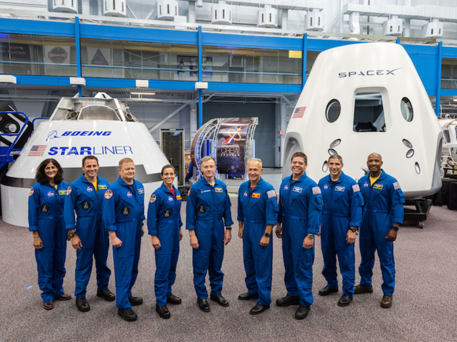 NASA Announces First Crew for Commercial Space Travel