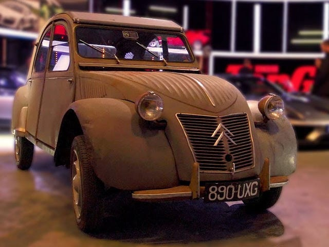 I now need to drive a 2CV