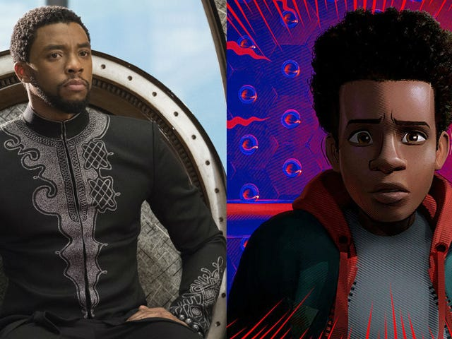 Spider-Verse and Black Panther Each Earned Some Gold at the 2019 Academy Awards