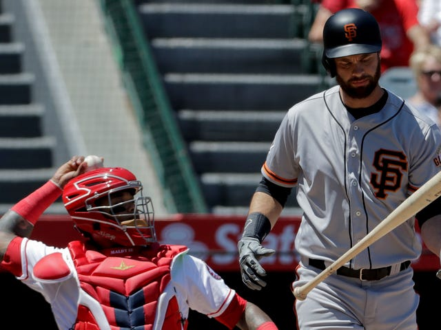 Giants' Brandon Belt Works Historic 21-Pitch Plate Appearance, To No Avail