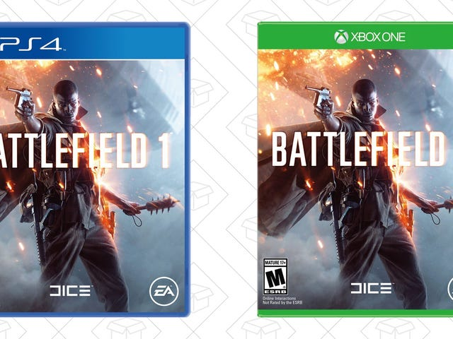 Add Even More to Your Video Game Collection With Battlefield 1 for $35