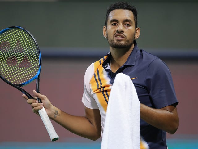 Nick Kyrgios Is Just Another Grump Railing At The Umpire Now