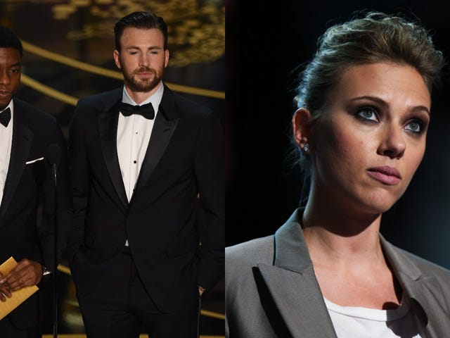 Chris Evans, Scarlett Johansson, and Chadwick Boseman weigh in on Scorsese's Marvel comments