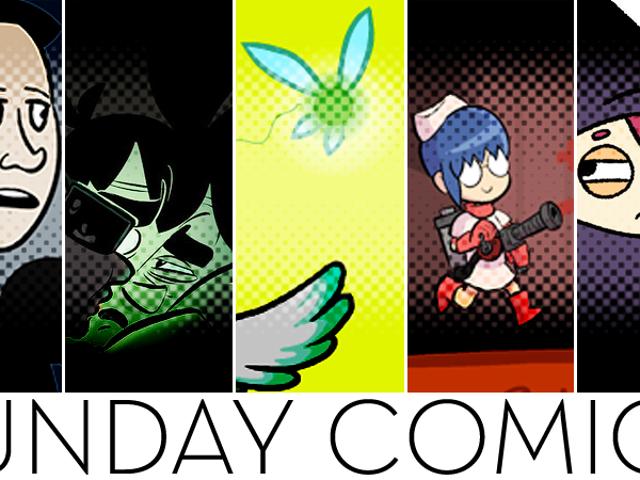 Sunday Comics: Just Saying