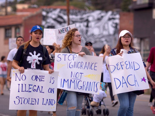If Trump Is Really About Saving DACA, Then He Shouldn't Care That a Judge Ruled to Start the Program Back Up