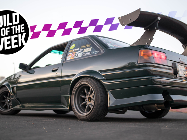 This Time Attack Toyota AE86 Corolla Used To Live Out In A Field Full Of Goats