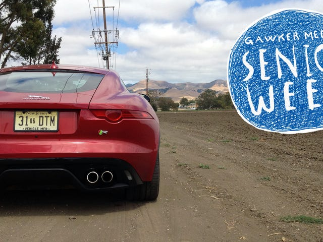 That Time I Ruined A Jaguar F-Type R Coupe