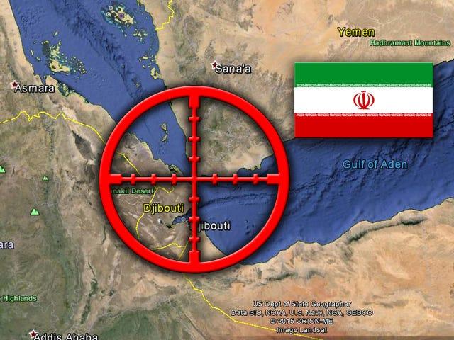 Os sauditas temem o controle iraniano do Iêmen devido a este ponto estratégico do estrangulamento