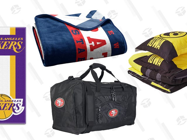 Stock Up on Sports Merchandise During This One-Day Sale