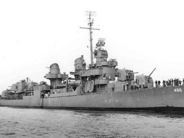 U.S. history, how did the potato save a U.S. ship?