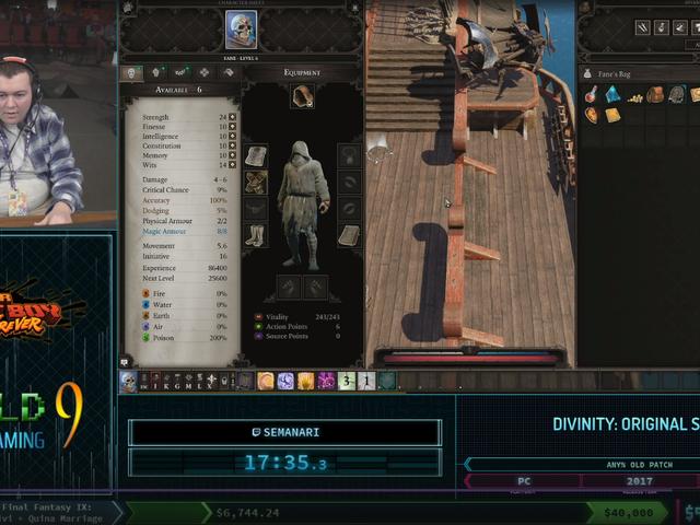 Heartbreaking Divinity: Original Sin 2 Speedrun Highlights How Luck Is A Speedrunner's Nemesis