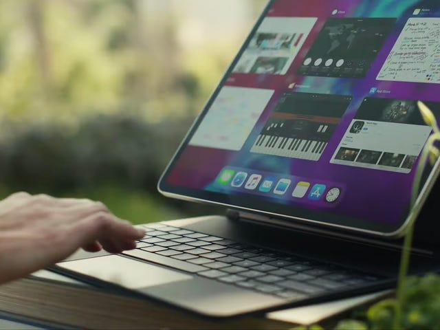 Slik bruker du iPad med styreflate eller mus