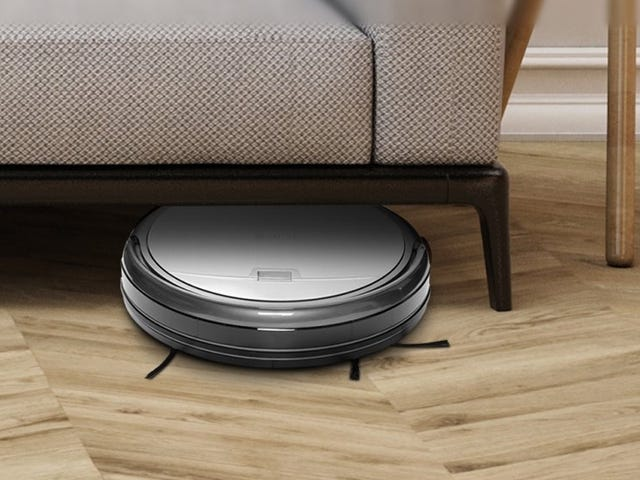 Find Time For Your Other Chores With a $144 Robotic Vacuum