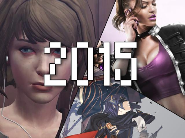 Les jeux que j'ai terminés en 2015