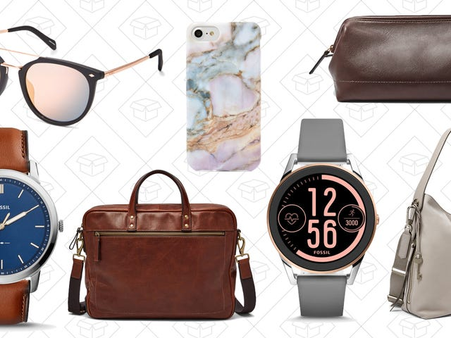 Dig Up A New Watch Or Bag With 25% Off Your Entire Order from Fossil