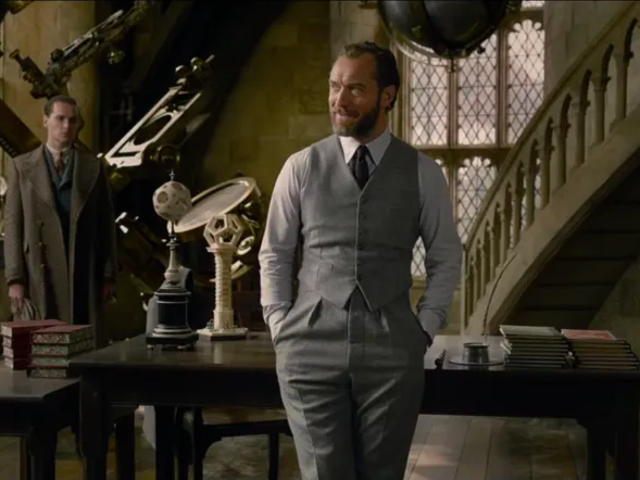 Confirmed: Dumbledore and Grindelwald Were Definitely Doin' It (Or At Least Wanted To)