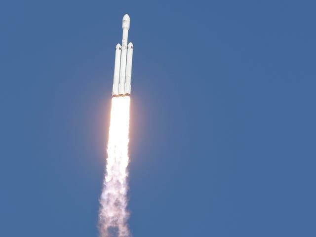 Falcon Heavy kan have drastisk øget antallet af asteroider vi kan mine