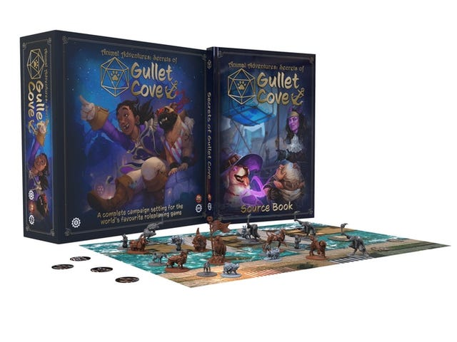 Steamforged Games, the team behind those cute dogs and cats you can use in D&D campaigns, are re