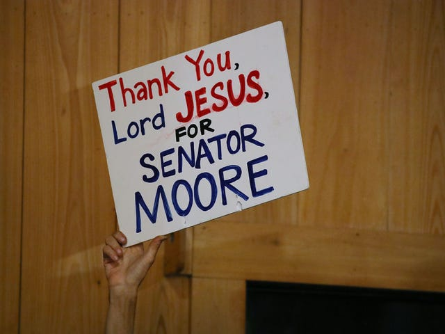 This Video of White People Who Are Sticking by Roy Moore Is the Whitest and Most Insane Thing That Ever Happened This Week