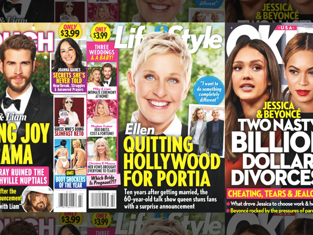 This Week In Tabloids: Ellen DeGeneres Is Quitting Hollywood. Let's Celebrate That!