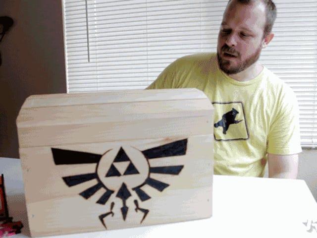 텍사스 오스틴 주변의 <i>Zelda</i> 보물을 숨기고있는 가이를 만나보세요.