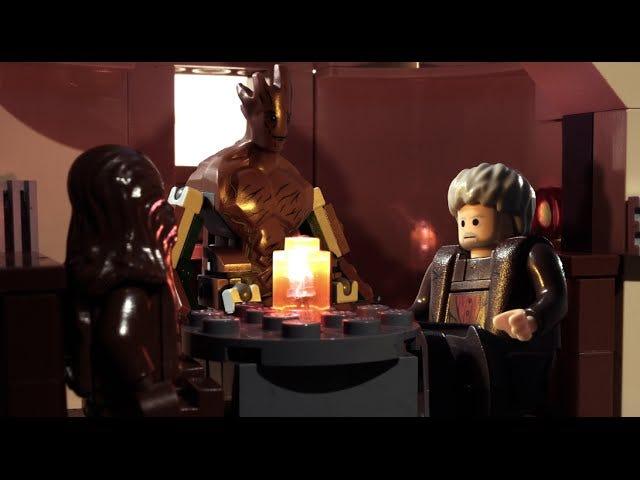 Hodor, Groot en Chewbacca hebben een chat in deze Lego Short