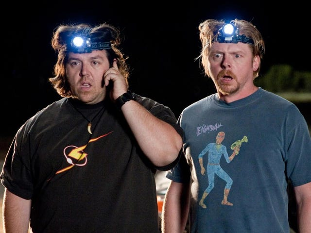 Simon Pegg and Nick Frost Are Working on a Show About Paranormal Investigators
