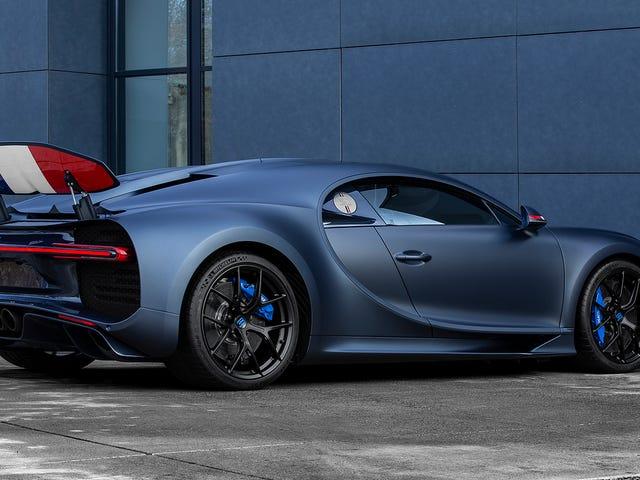 Den franska pride Bugatti Chiron är min favorit superbil denna vecka