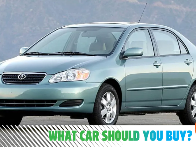 It's Time To Upgrade My 200,000-Mile Corolla! What Car Should I Buy?