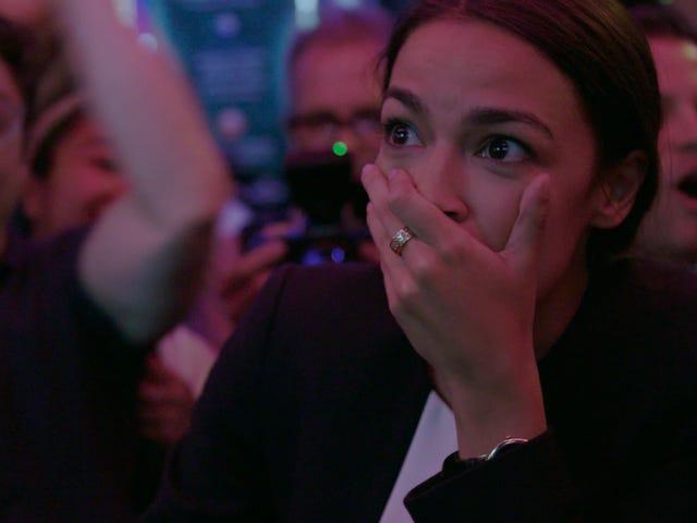 Fajnie jest oglądać Alexandria Ocasio-Cortez Knock Down The House na Netflix