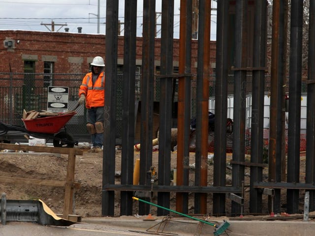 President Trump's Border Wall Refuses Breathalyzer, Field Sobriety Test After Being Caught Falling Down