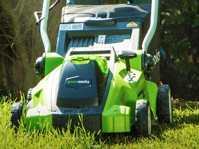 Give the Gift of An Electric Lawnmower For An All-Time Low Price