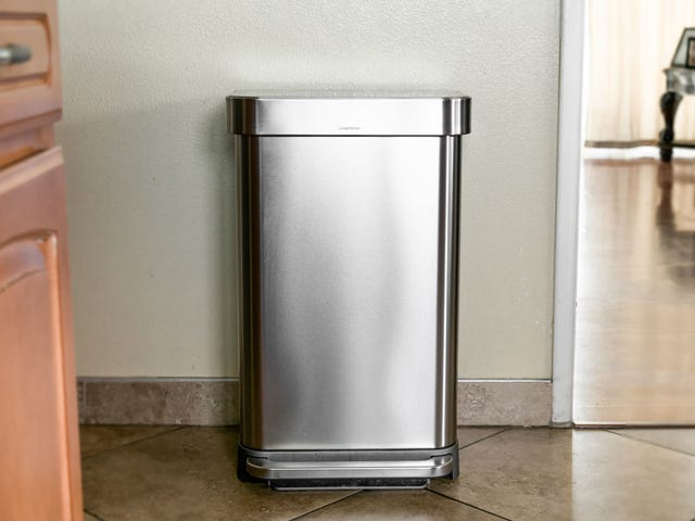 Make Your Kitchen Feel Instantly Cleaner by Washing Your Trash Can
