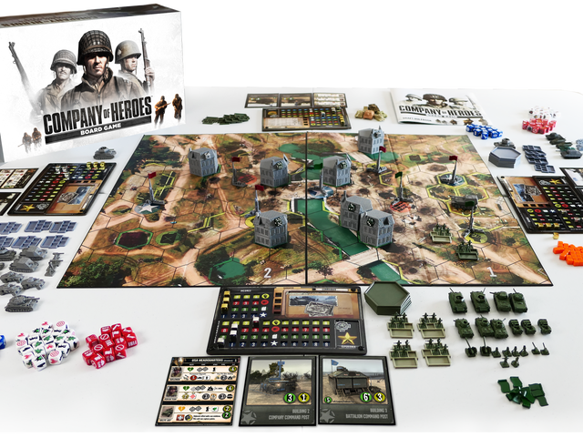 Company Of Heroes Is Now A Board Game