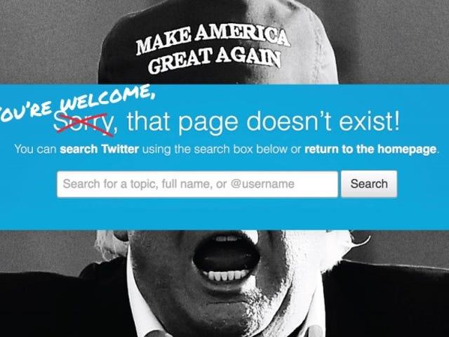 Un empleado de Twitter borra la cuenta de Donald Trump och såg ut av trabajo