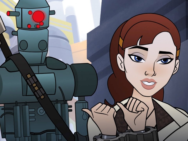 The NewStar Wars: Forces of Destiny Short Features Qi'ra and the Greatest Bounty Hunter of All Time