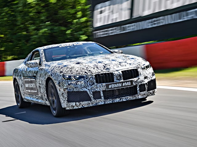 BMW Is Already Developing An M8 And They're Going To Race It At Le Mans