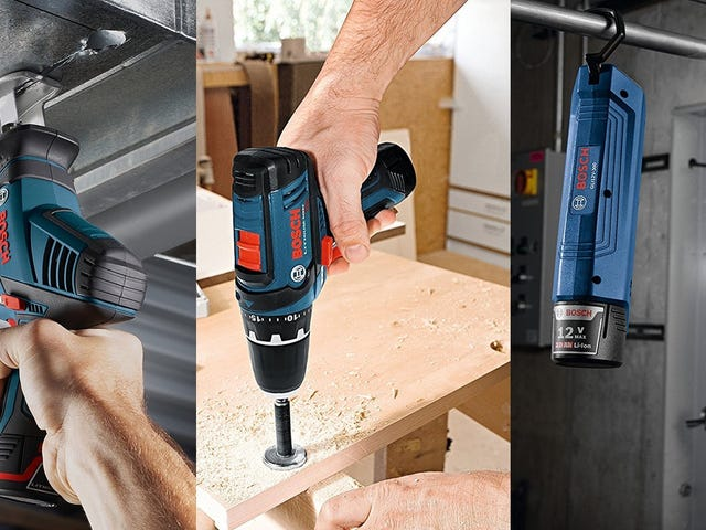 Gear Up For Your Next DIY Project With This One-Day Bosch Combo Kit Deal