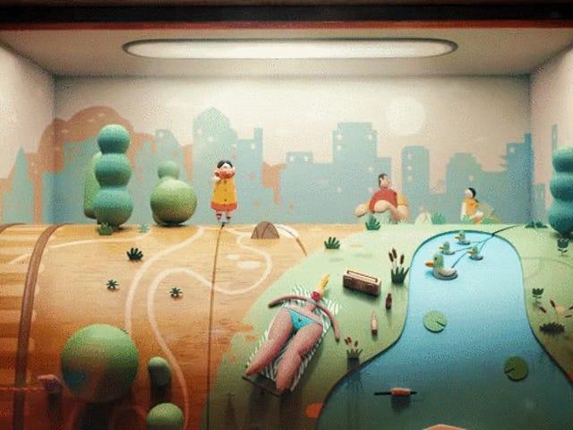 Video âm nhạc của Jane Bordeaux cho Ma'agalim là một hành trình hoạt hình tuyệt đẹp
