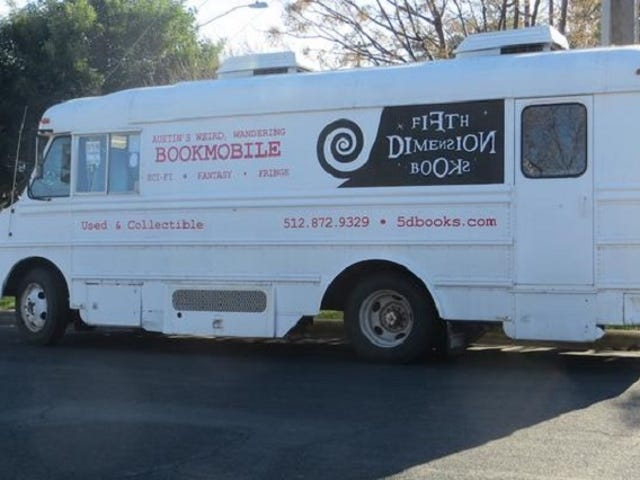 Does Your Town Have A Science Fiction Bookstore On Wheels? Austin Does.
