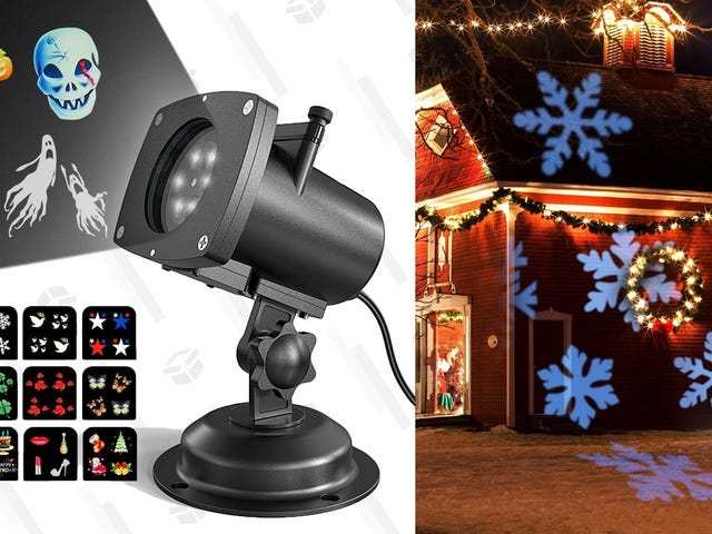 Decorate For Every Holiday In Seconds With This $24 Projector