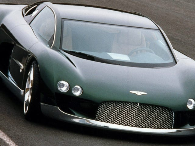 Can You Tell What's Missing From These Photos Of The Bentley Hunaudières Concept?