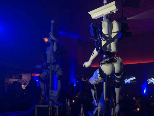 Robot Strippers Are A Thing Now