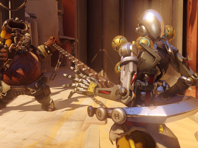 Overwatch Team Wastes Four Ultimates Trying To Take Down Roadhog