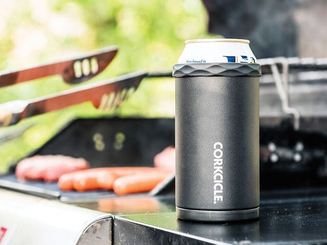 CORKCICLE's Koozie Handles Cans and Bottles
