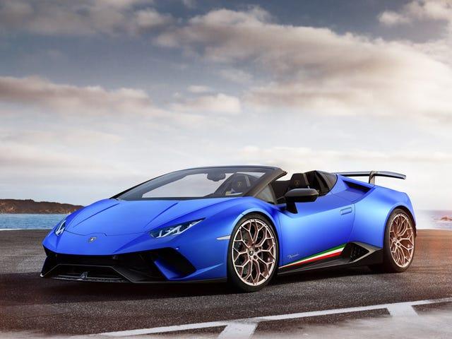 I don't normally call Lamborghini's beautiful