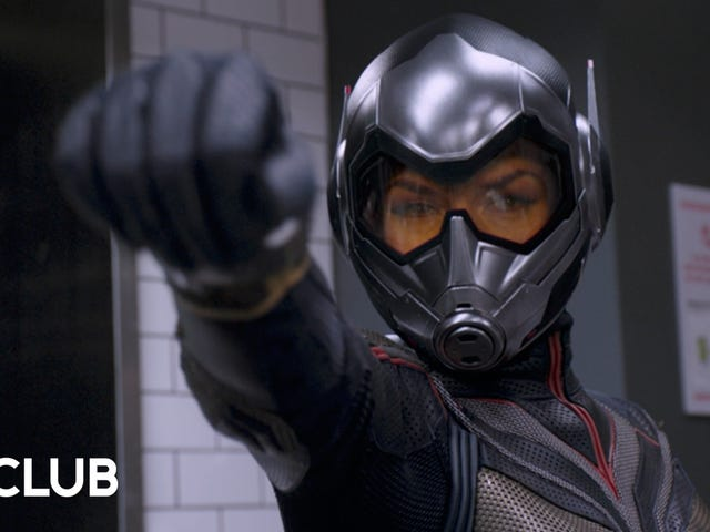 Marvel's Visual Development team walks us through updating theWasp suit after Ant-Man