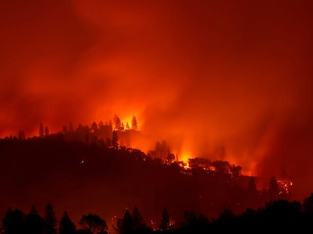 California Wildfires Emitted as Much Carbon as the State's Entire Power Sector in 2018
