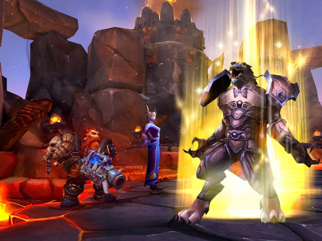 World Of Warcraft Will Reduce Everyone's Level To Avoid A 'Grind'