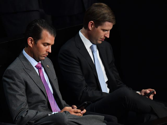 Donald Trump Jr. Was Awkwardly Sliding Into Former Model's DMs Long Before His Marriage Collapsed